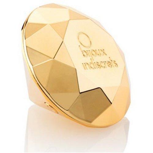 Bijoux Indiscrets: Twenty One Vibrating Diamond - Gold 4 Product Image