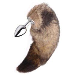 Master Series: Fox Tail Anal Plug - XL Product Image