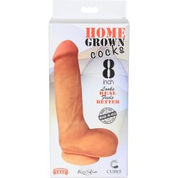 "Home Grown Bioskin Cock: Vanilla - 8"" 7 Product Image"