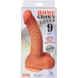 "Home Grown Bioskin Cock: Vanilla - 9"" 7 Product Image"