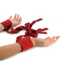 Etherea Cuffs - Red 1 Product Image