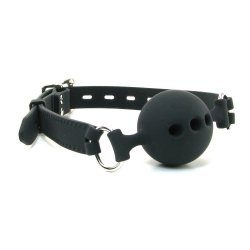 Fetish Fantasy Extreme Silicone Breathable Ball Gag - Med 1 Product Image