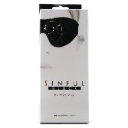Sinful Blindfold - Black 6 Product Image
