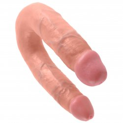 King Cock: Medium Double Trouble - Flesh 1 Product Image