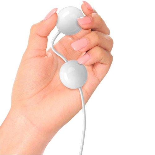 iSex USB Kegal Balls - White 4 Product Image