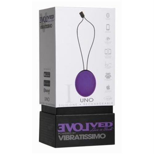 Vibratissimo Uno - Purple 4 Product Image