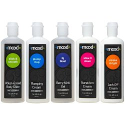 Mood: Pleasure For Him Gels - 5 Pack - 1 oz. ea. Product Image