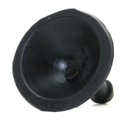 Tantus: Silicone Suction Cup  - Black 5 Product Image