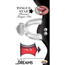 Wet Dreams: Tongue Star - Clear Product Image