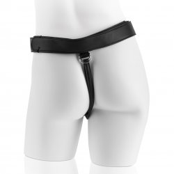 """King Cock Strap-On Harness With 9"""" Cock - Black 7 Product Image"""