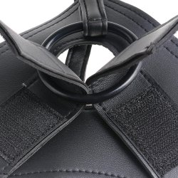 "King Cock Strap-On Harness With 8"" Cock - Flesh 4 Product Image"