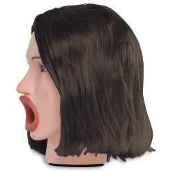 Pipedream Extreme Toys: Hot Water Face Fucker - Brunette 3 Product Image