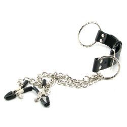 Fetish Fantasy Nipple Clamps & Cock Ring Set 3 Product Image