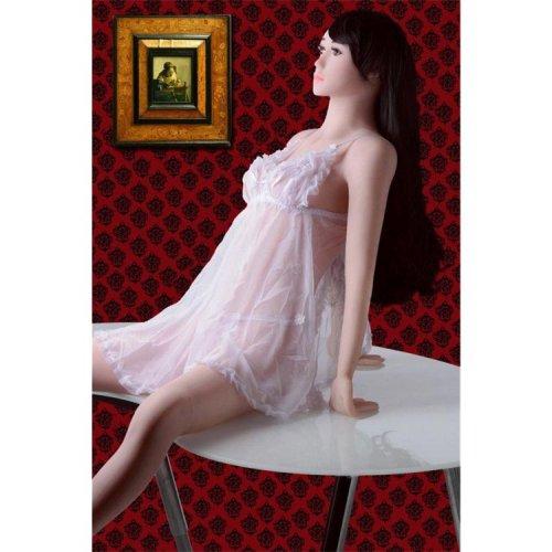 Dahlia Life Size Platinum Sex Doll 6 Product Image