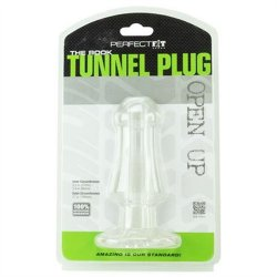 Perfect Fit Rook Tunnel Plug - Clear 6 Product Image