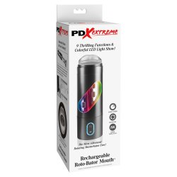 Pipedream Extreme Toyz: Rechargeable Roto-Bator Mouth  6 Product Image
