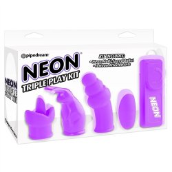 Neon Triple Play Kit - Purple 1 Product Image