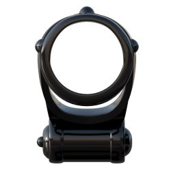 Fantasy C-Ringz Turbo Teazer - Black 2 Product Image