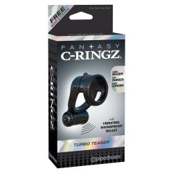 Fantasy C-Ringz Turbo Teazer - Black 6 Product Image