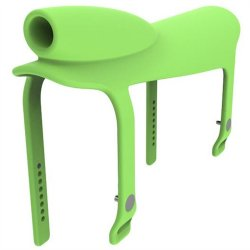 Gnarly Rider Silicone Saddle - Green 1 Product Image
