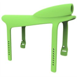 Gnarly Rider Silicone Saddle - Green 2 Product Image