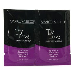 Wicked Pleasers - 10 Lubricant Packettes 5 Product Image