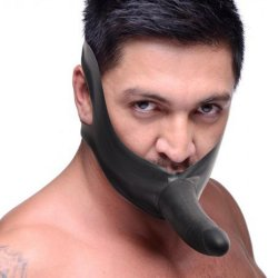 Master Series: Face Fuk Strap On Mouth Gag Product Image