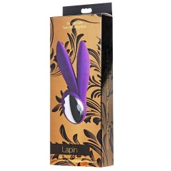 Lapin 10 Mode Vibe With Ears - Purple 3 Product Image
