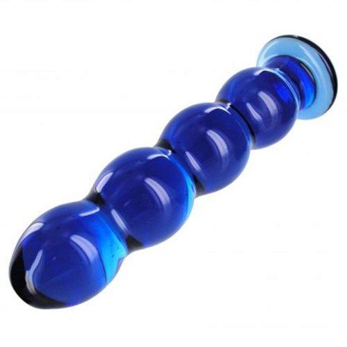 Prisms Nirvana Cobalt Glass Probe Dildo 2 Product Image