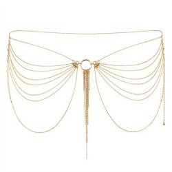 Bijoux Indiscrets Magnifique Collection Gold Chain Waist Jewelry 1 Product Image