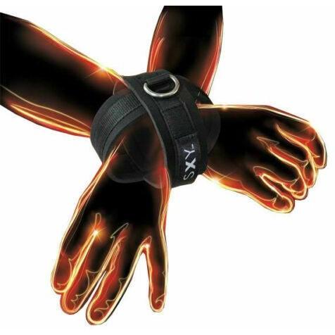 SXY Cuffs - Black 1 Product Image