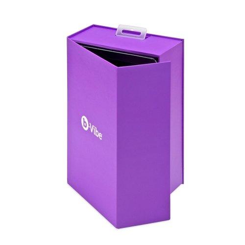 B-Vibe Trio Plug - Purple 13 Product Image