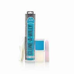 Clone A Willy - Vibrating - Glow In The Dark Blue Product Image