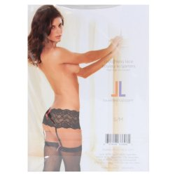 Lovelife: Crotchless Lace Boyleg with Garters - S/M 9 Product Image