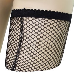 Lovelife: Fishnet Thigh High with Backseam - O/S 3 Product Image