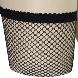 Lovelife: Fishnet Thigh High with Backseam - O/S 4 Product Image