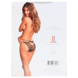 Lovelife: Crotchless Femme Fatale Panty - S/M 7 Product Image
