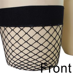 Lovelife: Sparkle Diamond Net Thigh Highs - O/S 4 Product Image