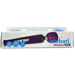 Shibari 10x Wireless Wand - Purple 6 Product Image
