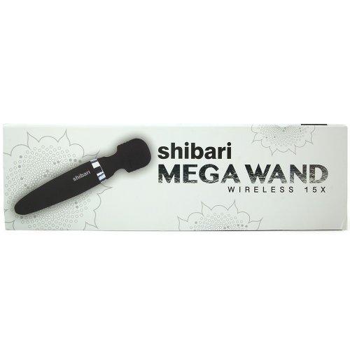 Shibari Mega Wireless Wand - Black 6 Product Image