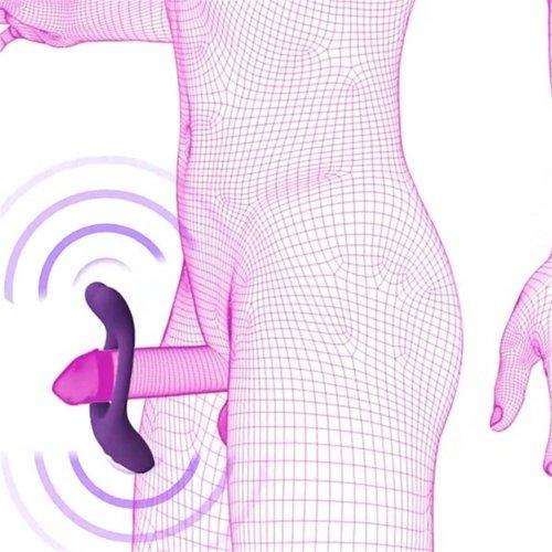 Doc Johnson Tryst Multi Erogenous Zone Massager - Black 11 Product Image