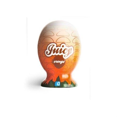 Juicy Mini Male Masturbator - Orange 2 Product Image
