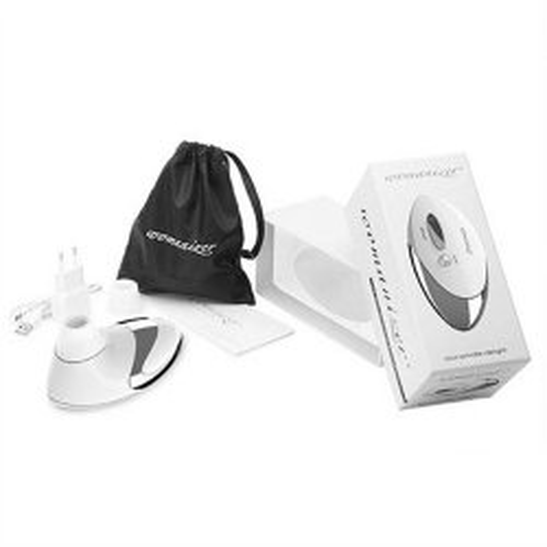 Womanizer Pro (W500) - White/Chrome 4 Product Image