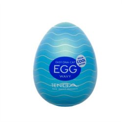 Tenga Egg - Wavy - Cool Product Image