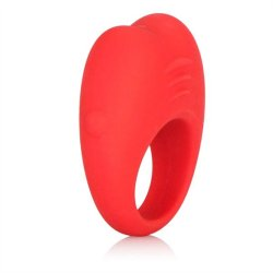 Colt Silicone Rechargeable Cock Ring - Red 3 Product Image