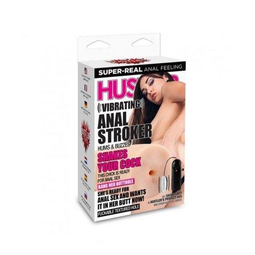 Hustler Toys: Vibrating Anal Stroker 3 Product Image