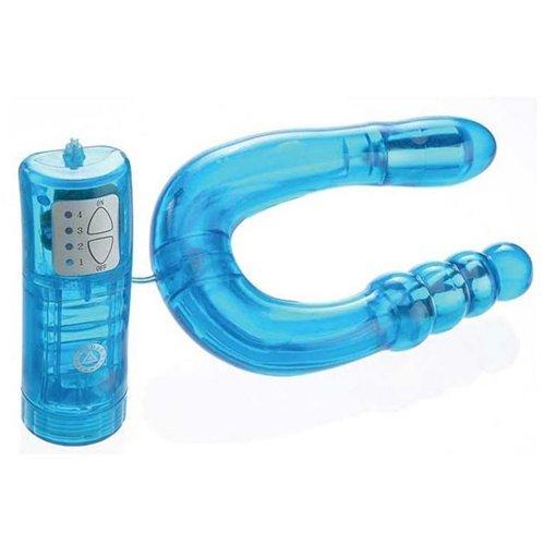 U Send Me Double Vibrating Stimulator- Blue 3 Product Image