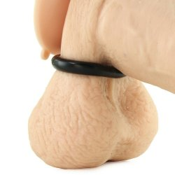 Nasstoys: My Ten Erection Rings - Tight Firm Rings - Black 5 Product Image
