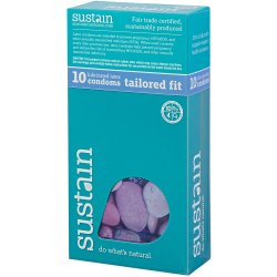 Sustain Tailored Fit Condom - 10 Pack 1 Product Image