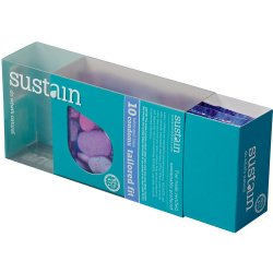Sustain Tailored Fit Condom - 10 Pack 3 Product Image